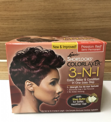 Luster's ShortLook ColorLaxer 3-n-1 Passion Red Semi-Permanent